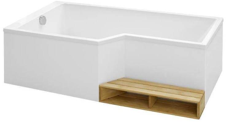 Деревянная ступень для ванны Jacob Delafon Bain Douche Neo E6D003-00 фото